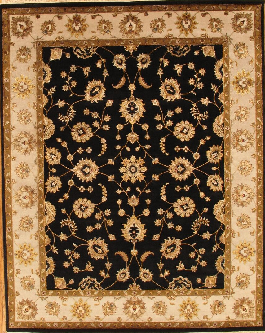 Agra Traditional Hand-Knotted Oriental Area Rug