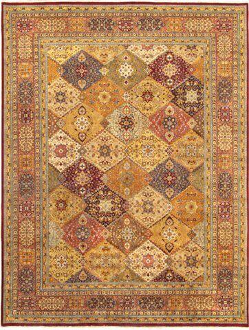 Tabriz Traditional Lamb's Wool Area Rug