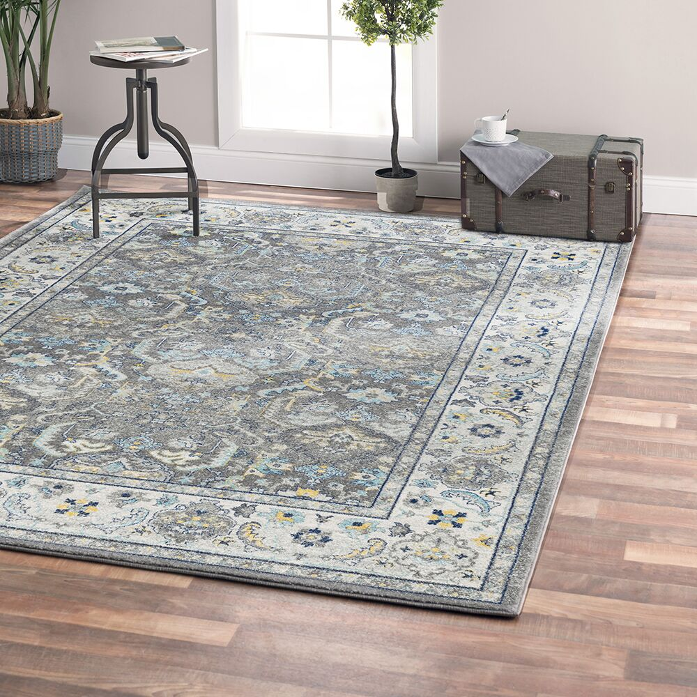 Chelsea Gray Area Rug Rug Size: Rectangle 10' x 14'