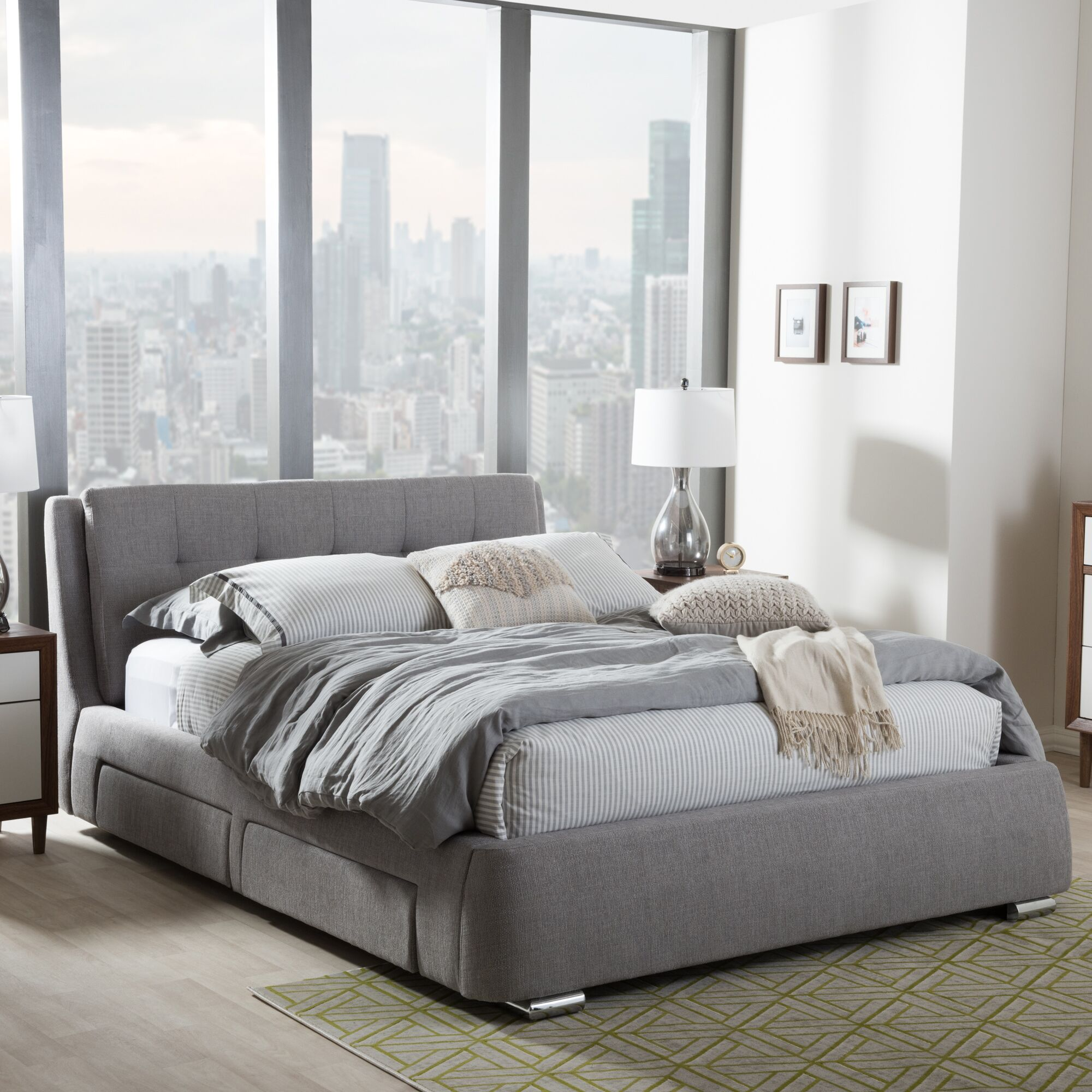 Utley Platform Bed Size: Queen