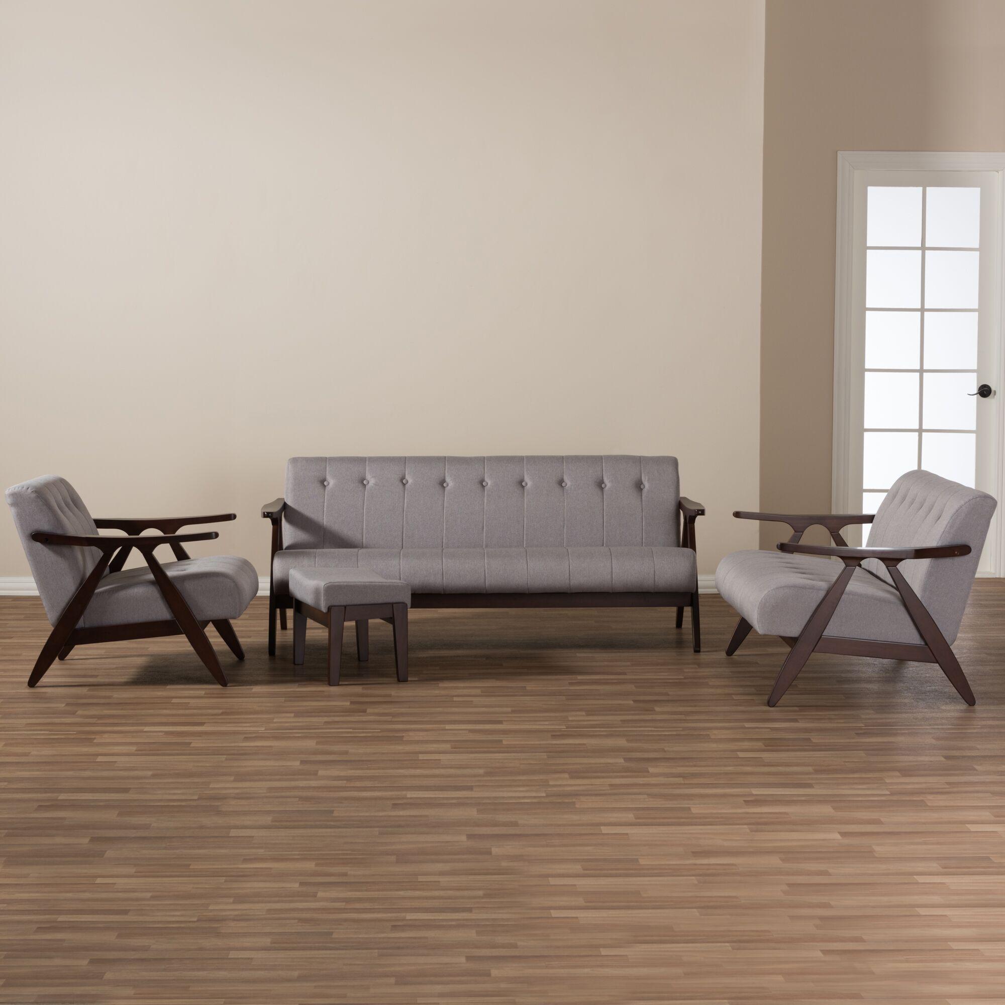 Enrico 4 Piece Living Room Set
