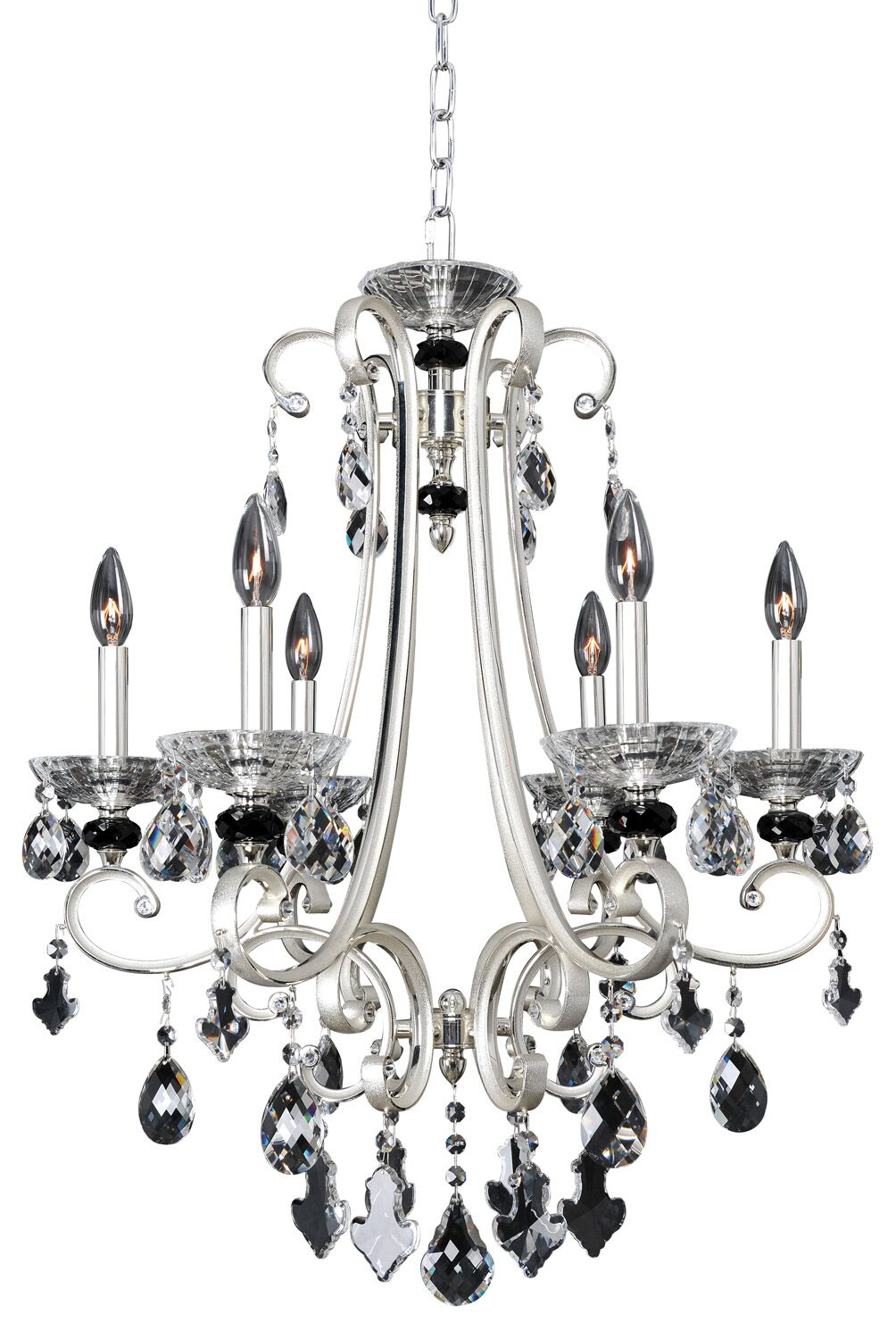 Bedetti 6-Light Candle Style Chandelier