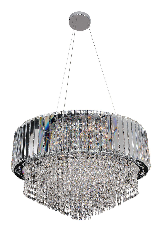 Adaliz 12-Light Crystal Chandelier Crystal: Firenze Clear