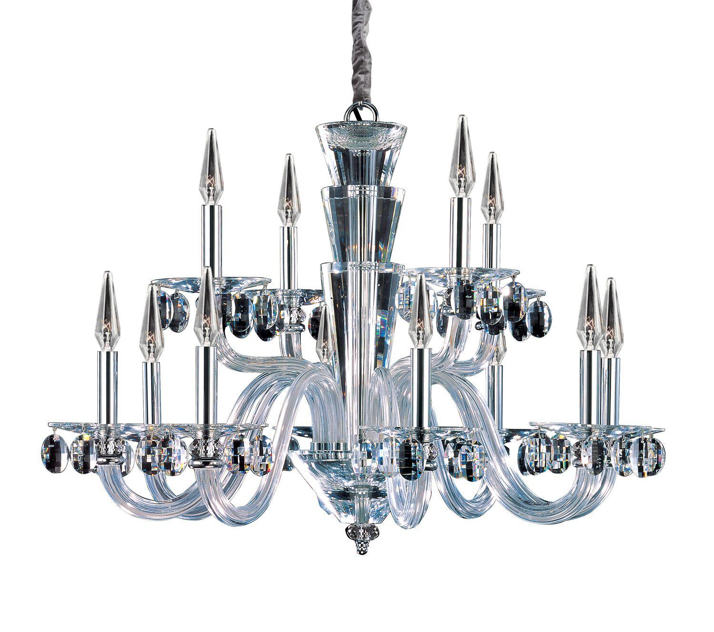 Fanshawe 12-Light Chandelier Crystal: Firenze Clear