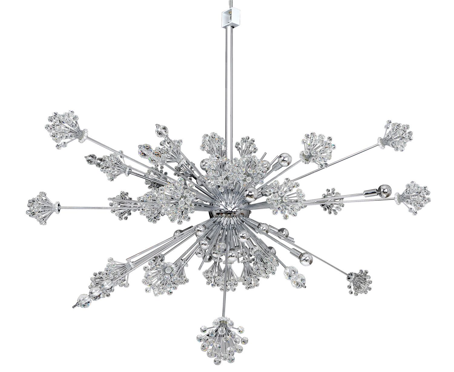 Constellation 46-Light Sputnik Chandelier