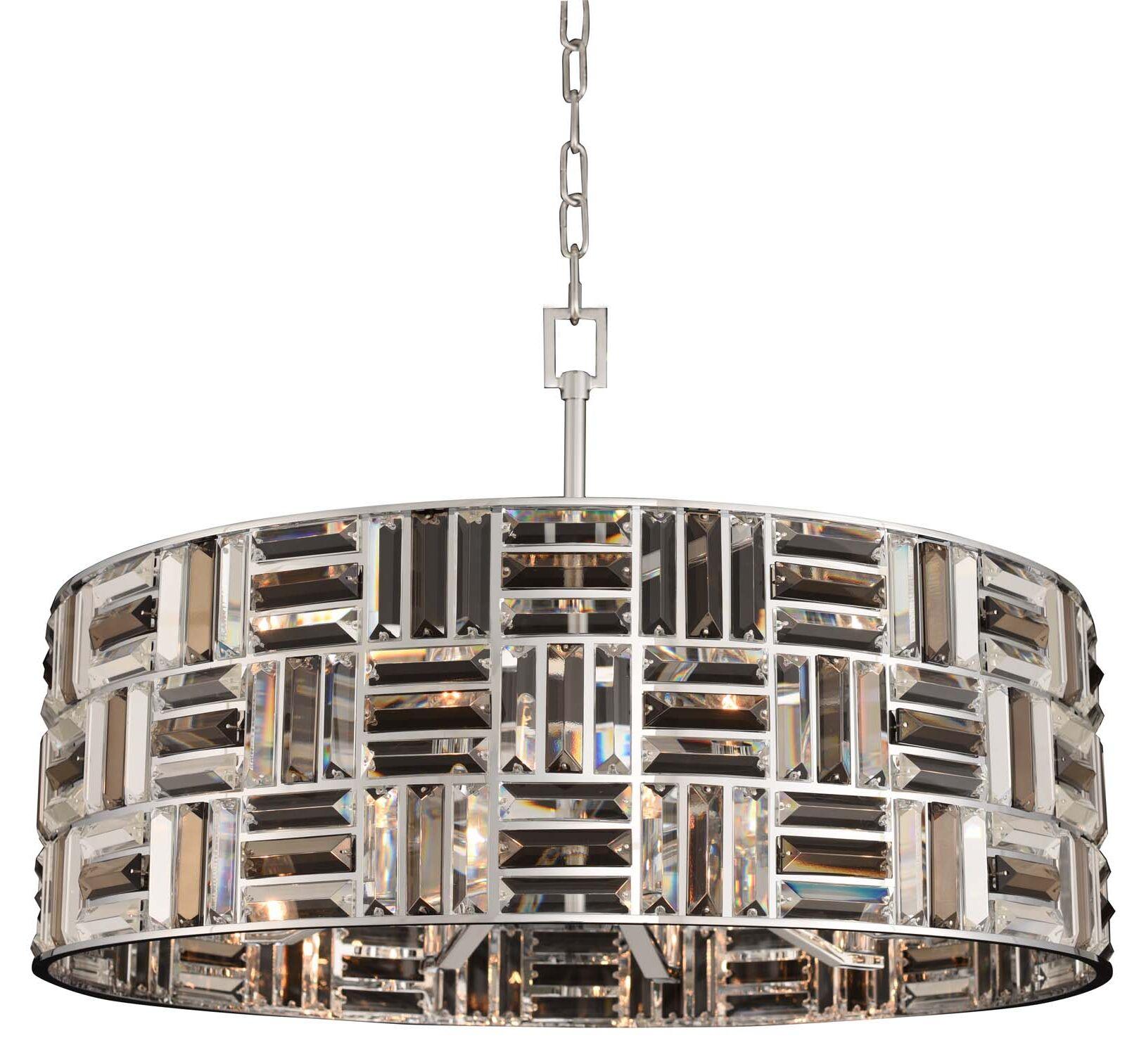 Modello 8-Light Crystal Chandelier
