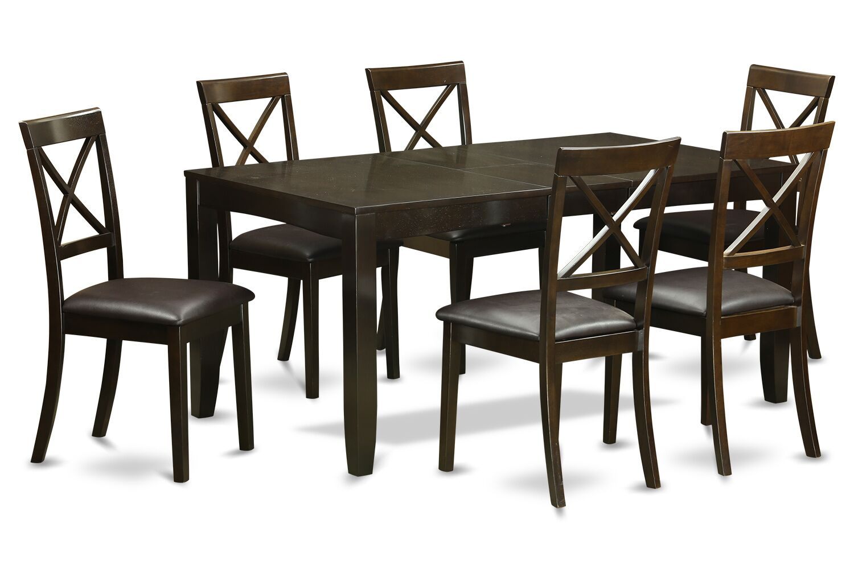 Lynfield 7 Piece Extendable Dining Set