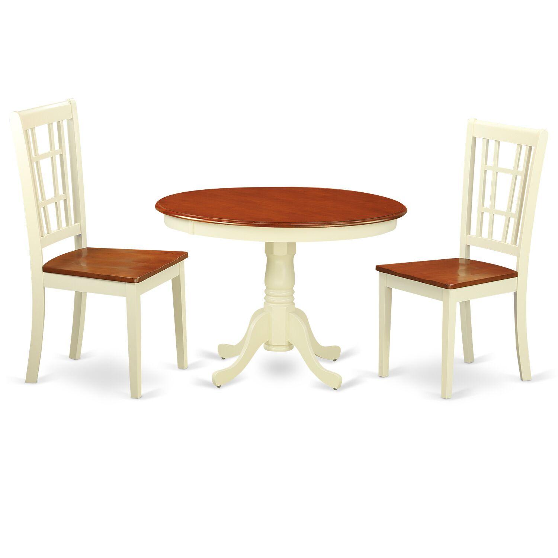 Dining Table Sets Gareth 3 Piece Dining Set