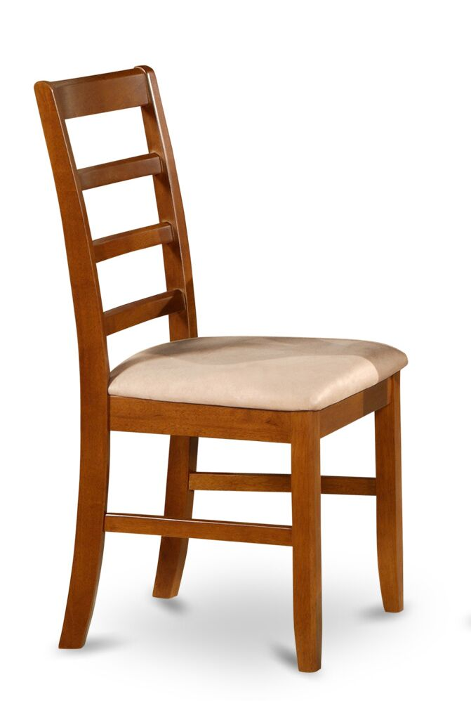 Parfait Dining Chair Upholstery Color: Saddle Brown