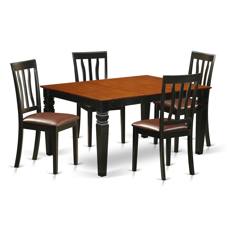 Dining Table Sets Arata 5 Piece Dining Set