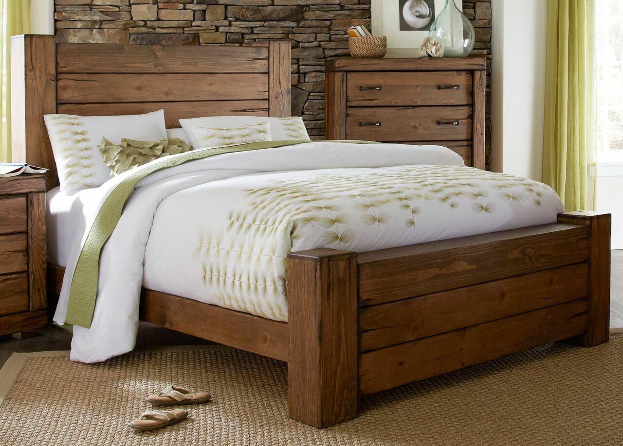 Hilton Panel Bed