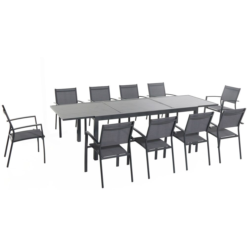 Liang 11 Piece Dining Set Table Size: 29.52
