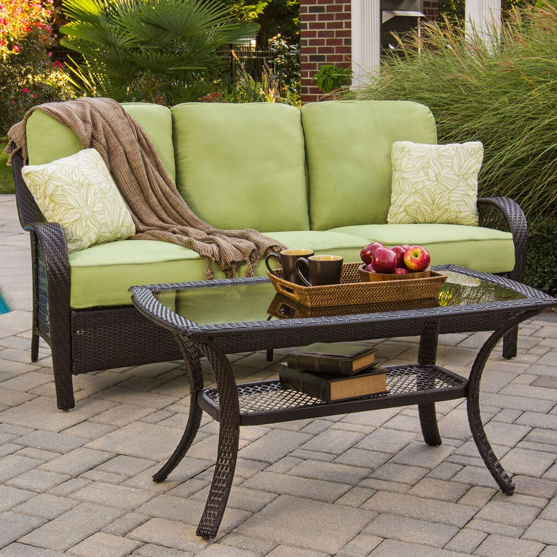Innsbrook 2 Piece Sofa Set with Cushions Color: Avocado Green
