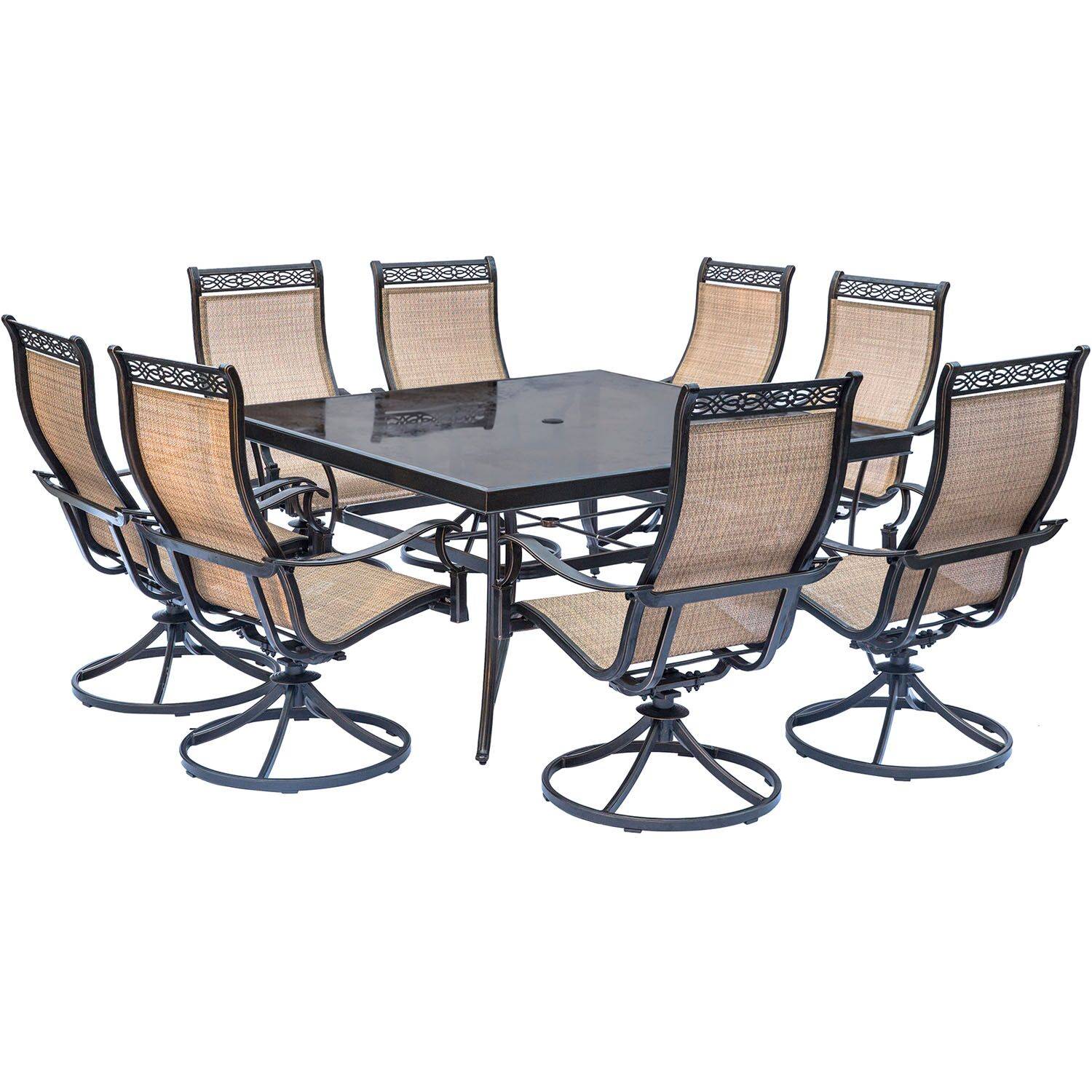 Bucci 9 Piece Dining Set