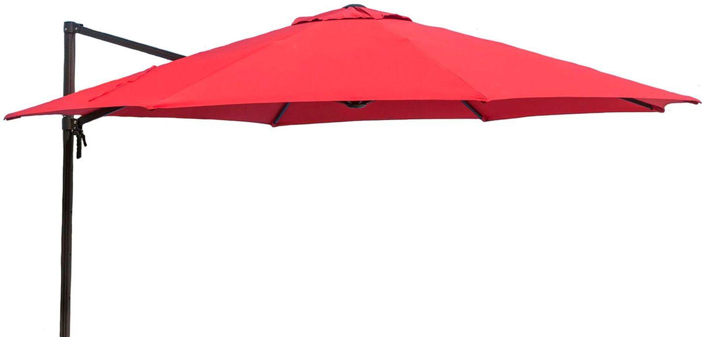 11' Yasmeen Umbrella Fabric: Red