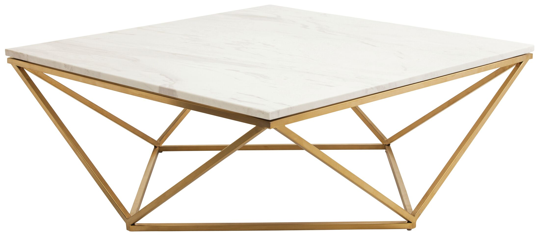 Jasmine Coffee Table Base Color: Gold
