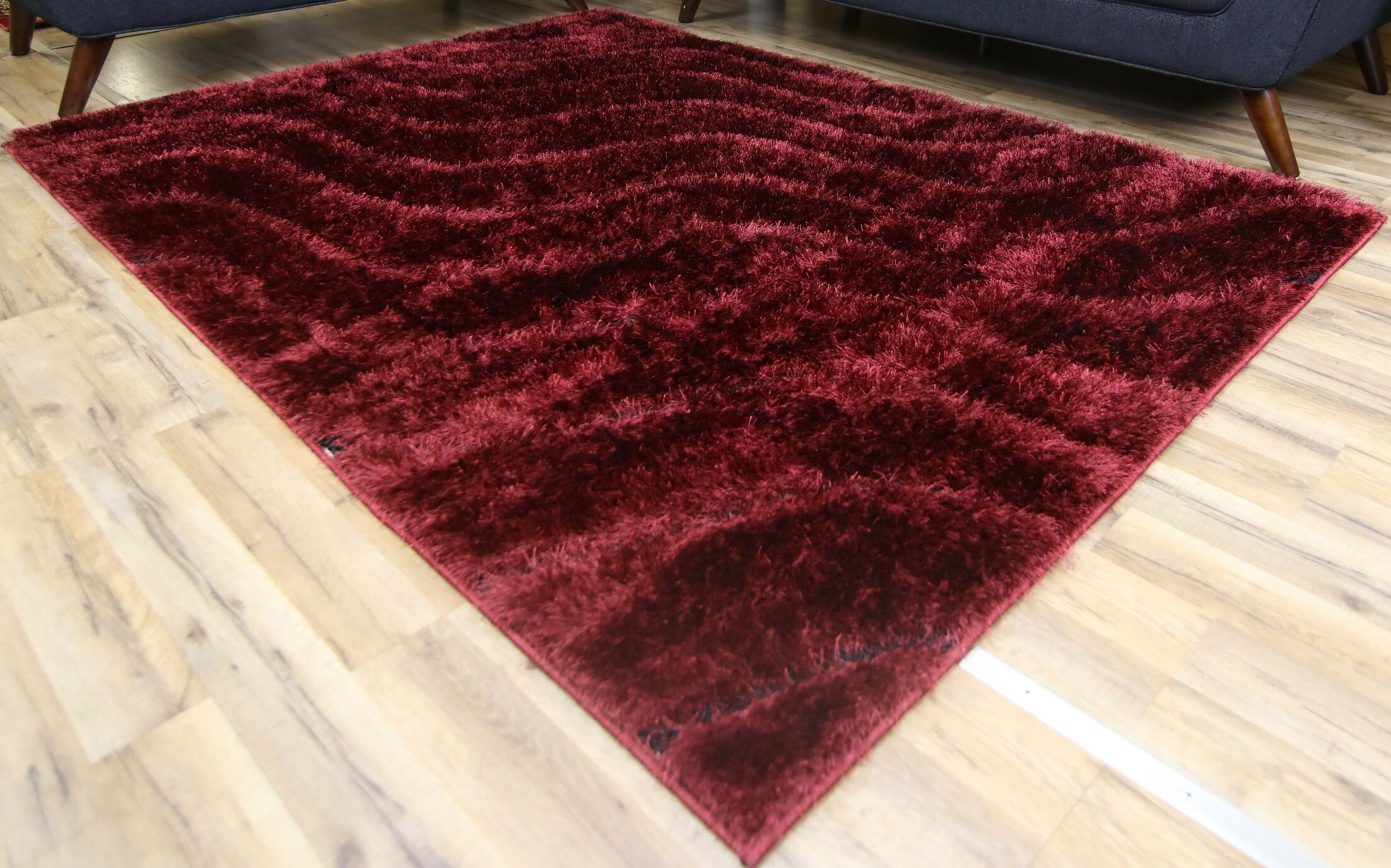 Unique Home Red Area Rug Rug Size: 7'10