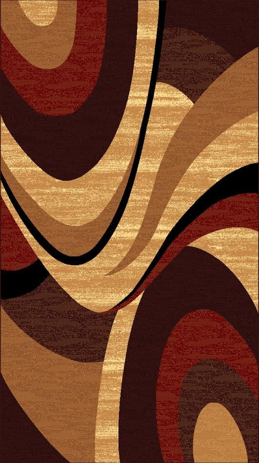 Kayra Brown Area Rug Rug Size: 7'10