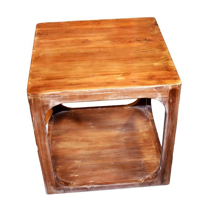 Deablo Wooden End Table