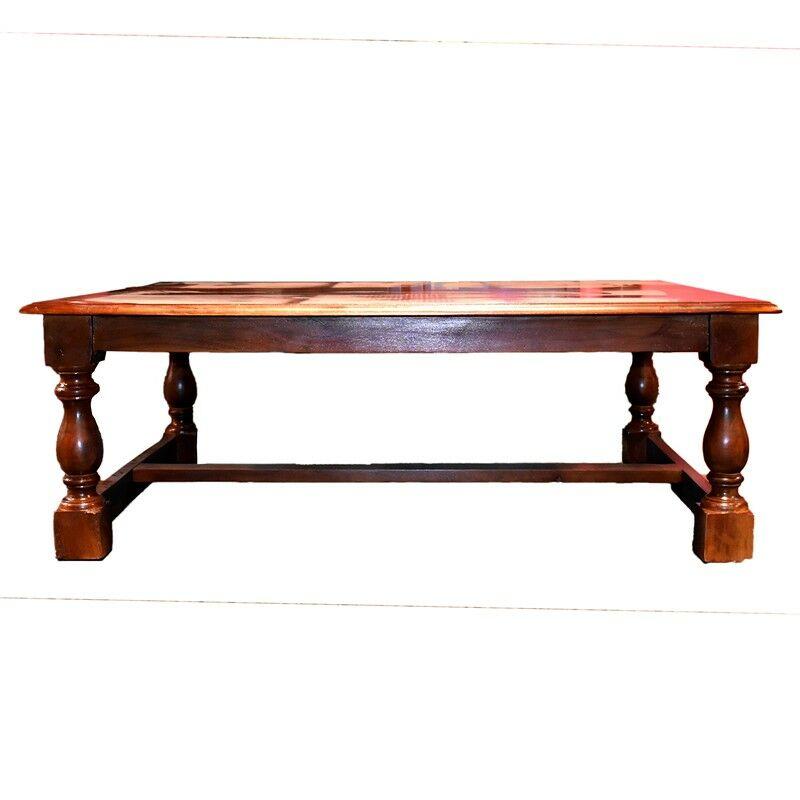 Diahann Wooden Coffee Table