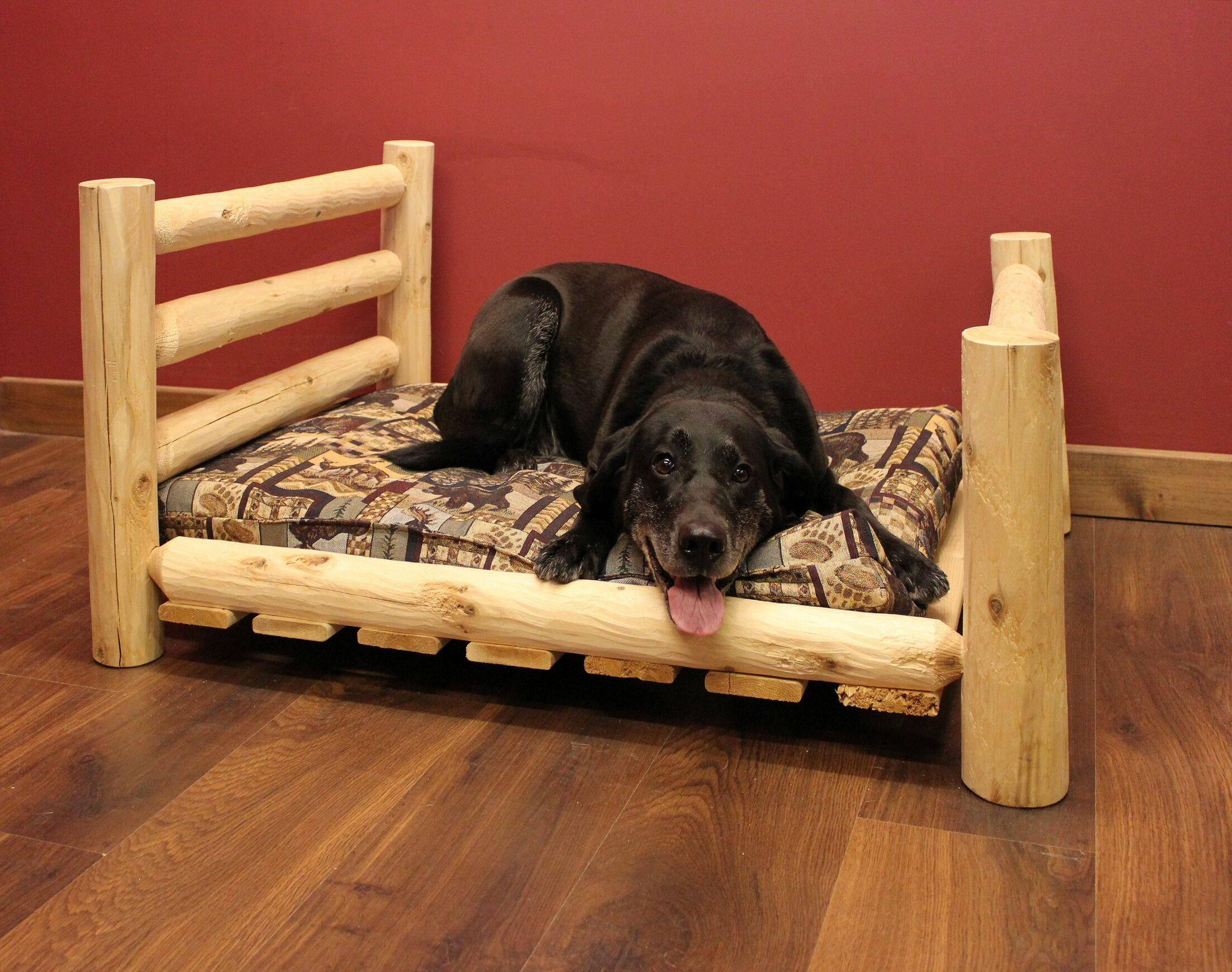 Caesar Dog Bed Size: 48