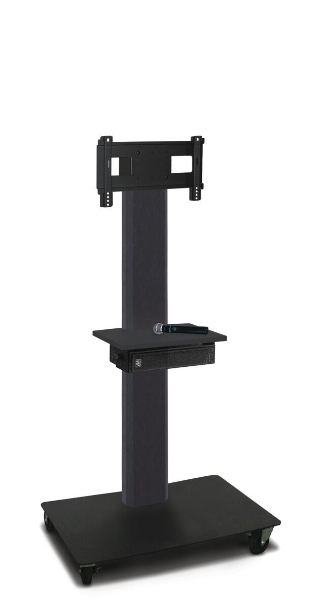 Vizion Floor Stand Mount Plasma Finish: Dark Neutral
