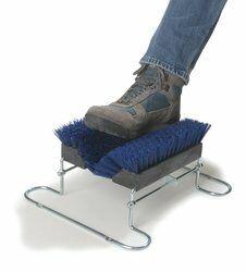 Boot 'N Shoe Brush Color: Blue