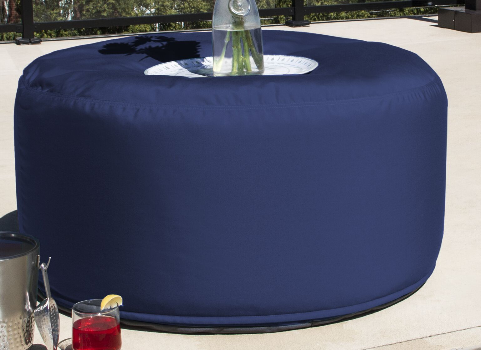 Chat Table Finish: Navy