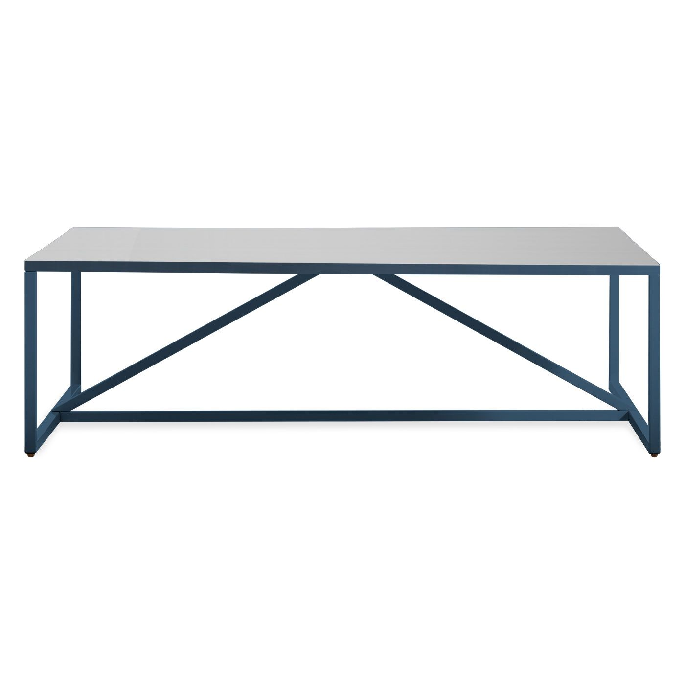 Strut Coffee Table Color: Navy