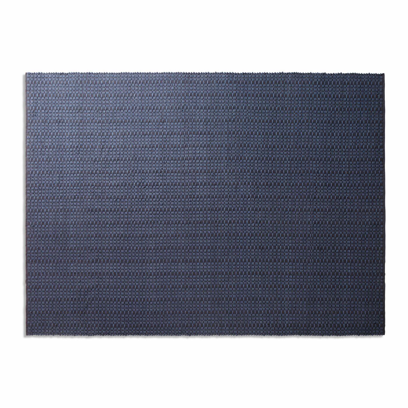 Weft Dark Blue Area Rug Rug Size: 9' x 12'