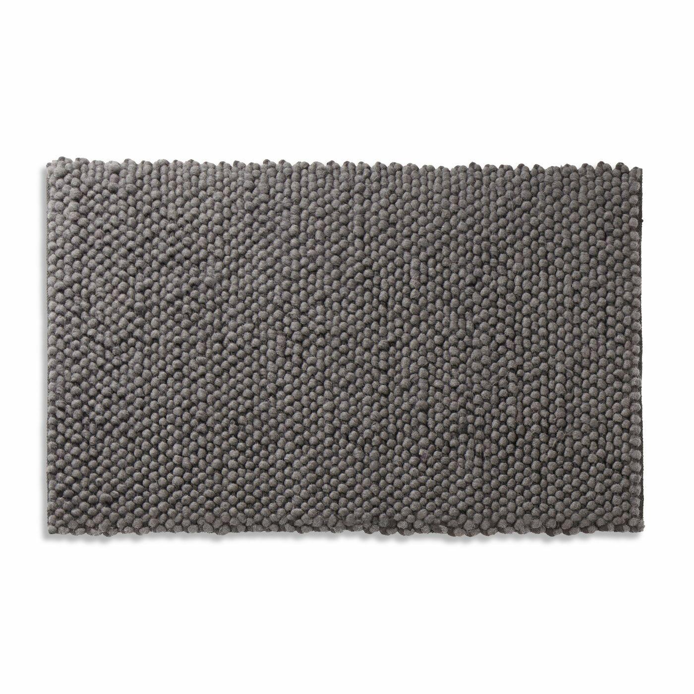 Dollop Dark Gray Area Rug Rug Size: 3' x 5'