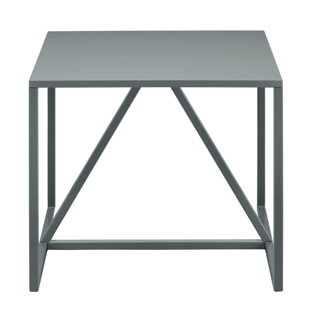 Strut End Table Color: Slate