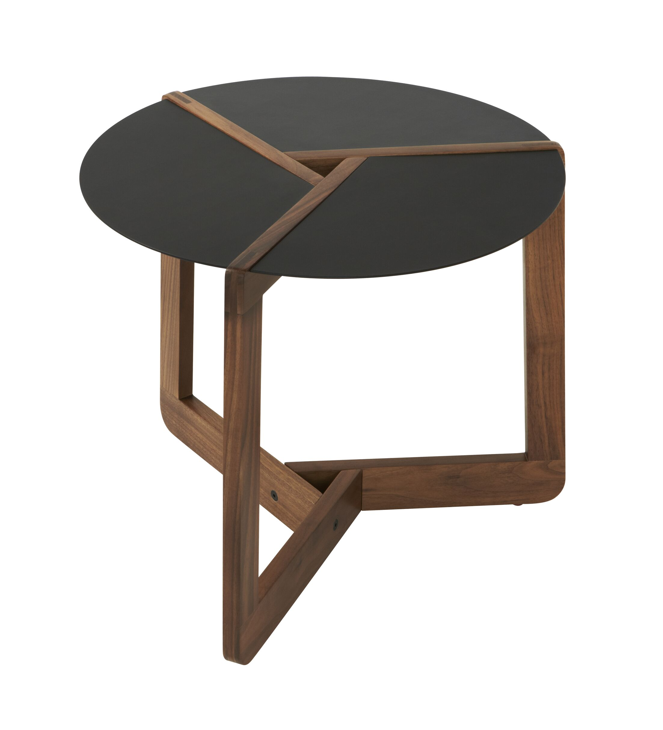 Pi Small End Table Size: Small, Color: Walnut