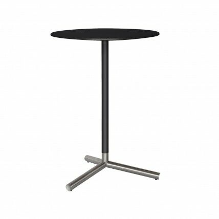 Sprout Pub Table Color: Black