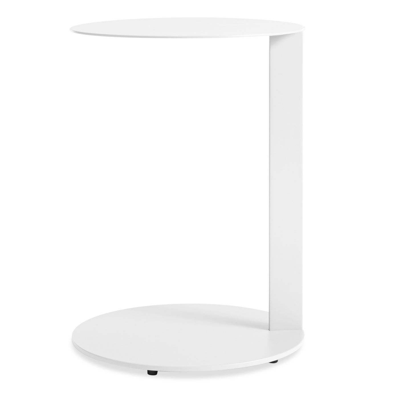 Note Side Table Color: White