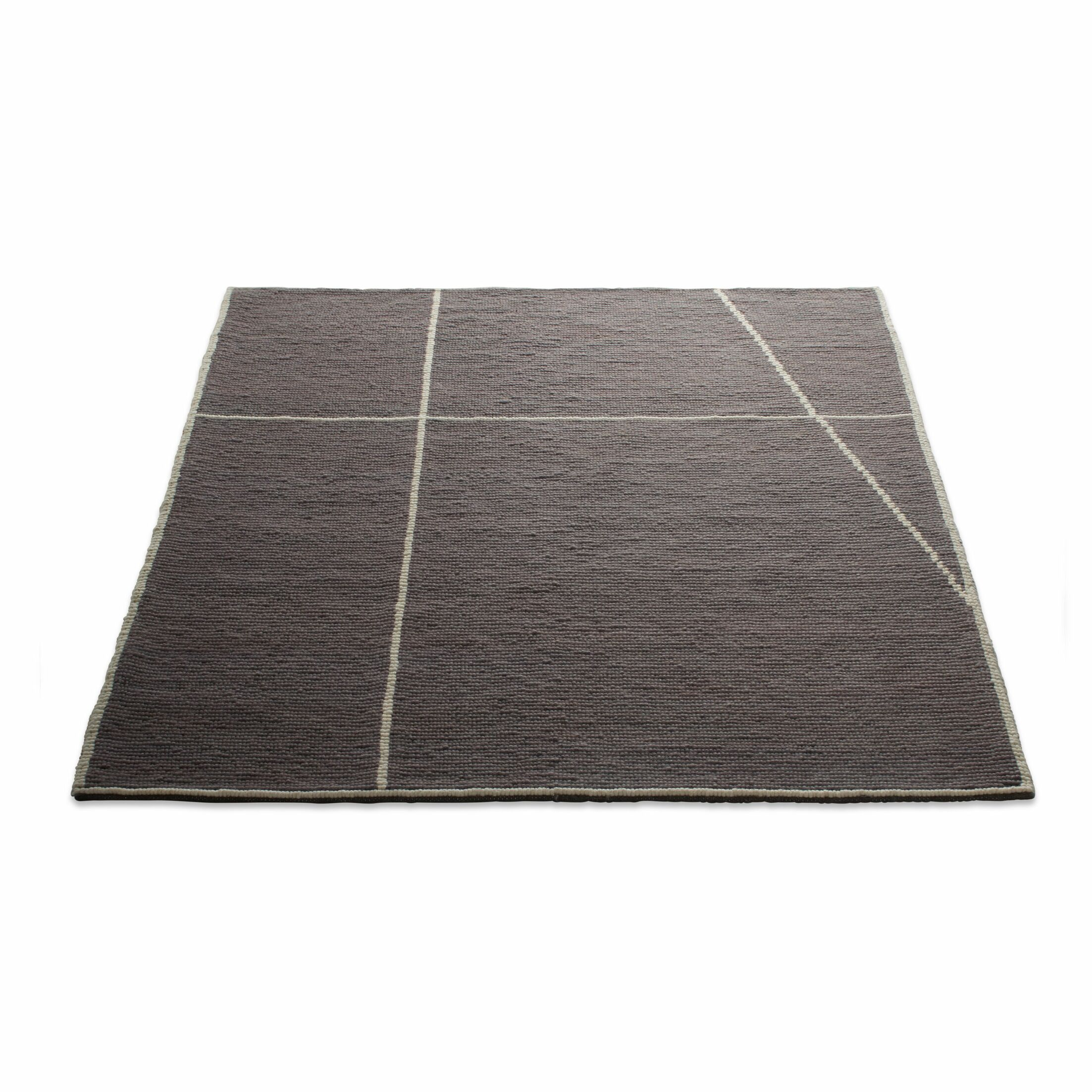 Collet Hand-Woven Wool Dusk Area Rug Rug Size: 8' x 10'