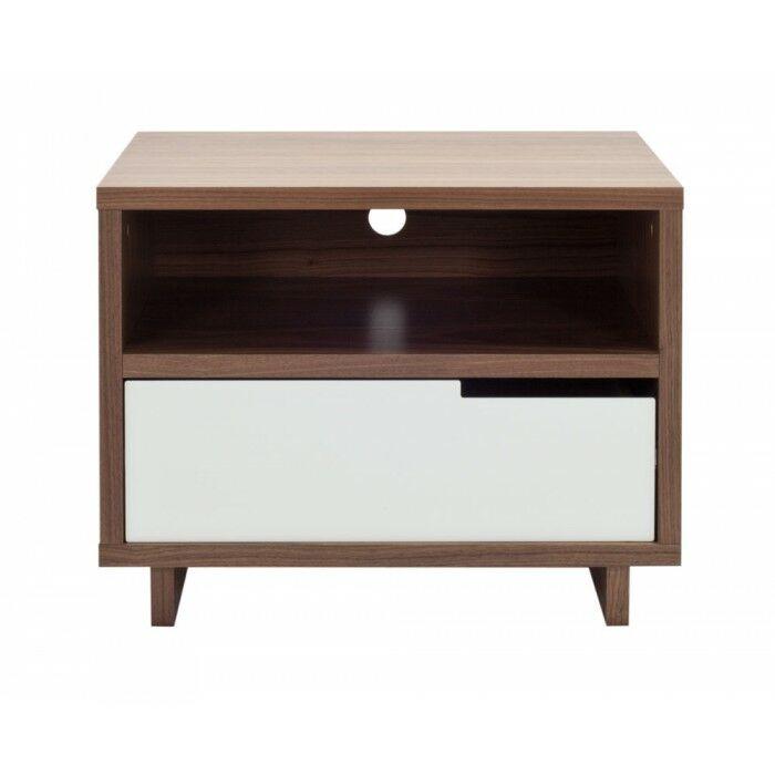 Modu-Licous Bedside Table Color: Walnut