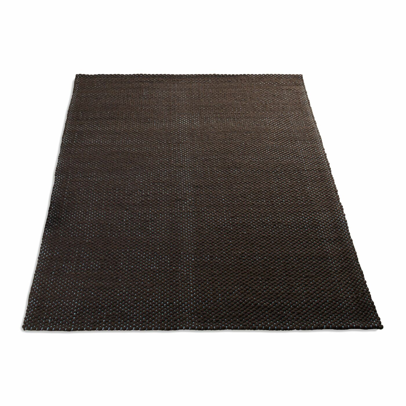 Dash Hand Woven Cotton Brown Area Rug Rug Size: Rectangle 6' x 9'