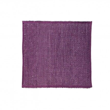 Last Newspaper Purple Area Rug Rug Size: Square 9' x 9'