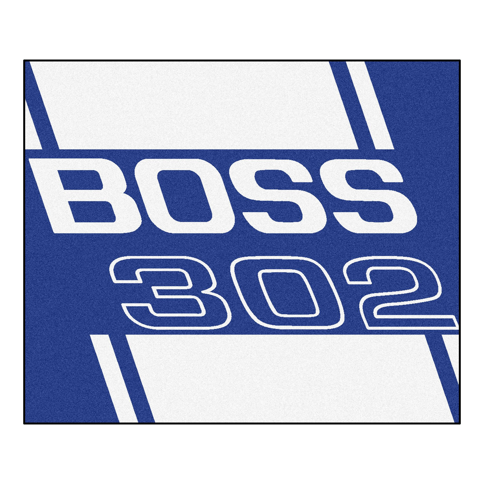 Ford - Boss 302 Rug Rug Size: 5' x 6'