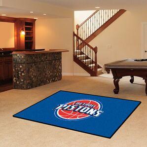 NBA - Detroit Pistons Doormat Mat Size: 5' x 8'