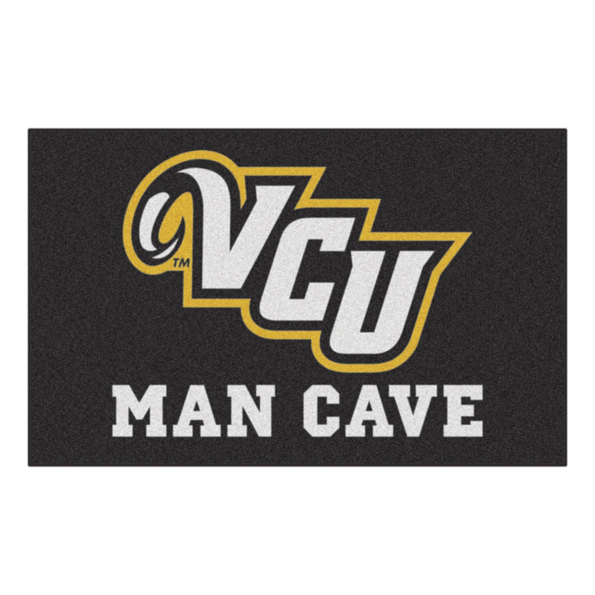Collegiate NCAA Virginia Commonwealth University Man Cave Doormat