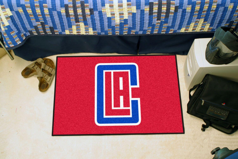 NBA - Los Angeles Clippers Doormat Mat Size: 5' x 8'