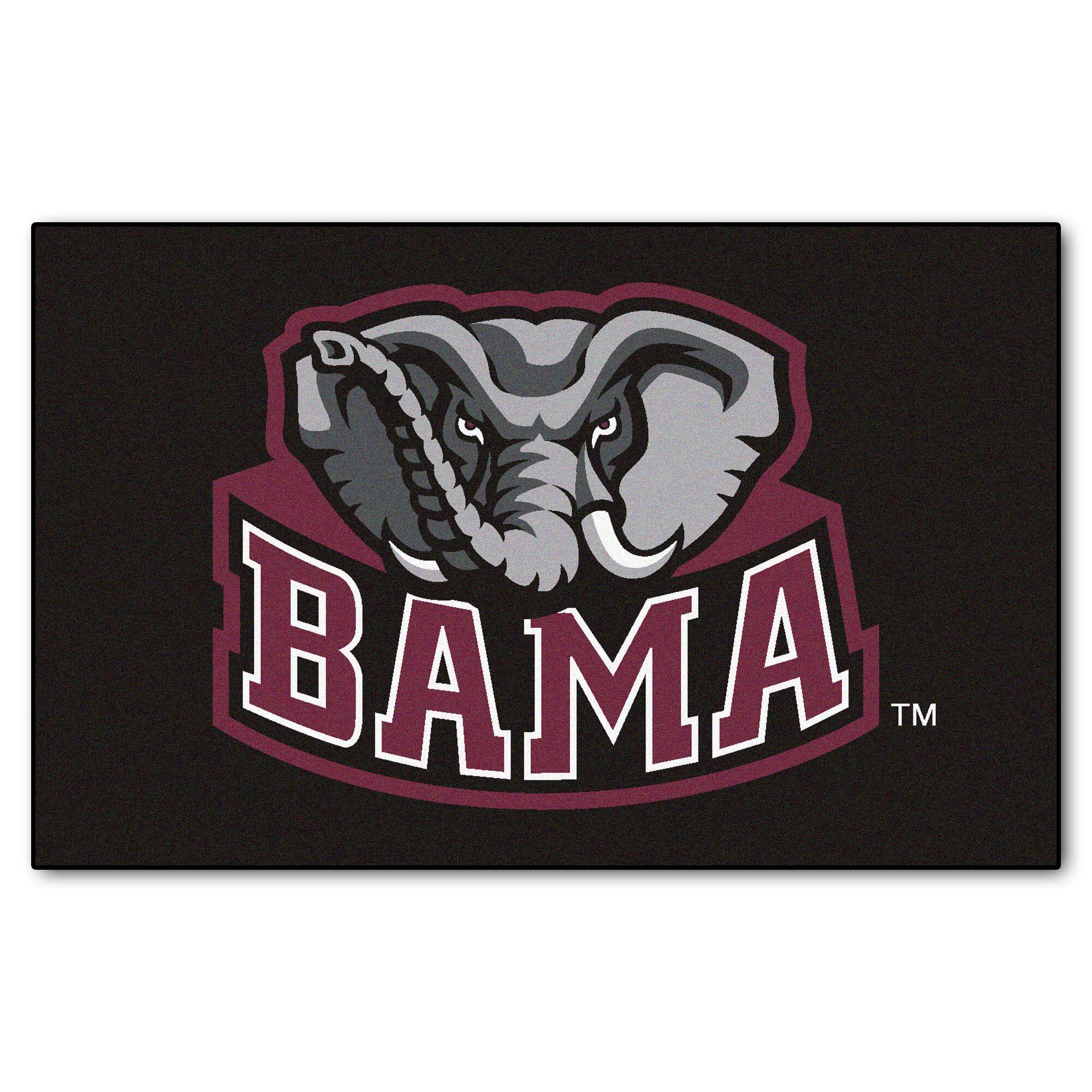 NCAA University of Alabama Doormat