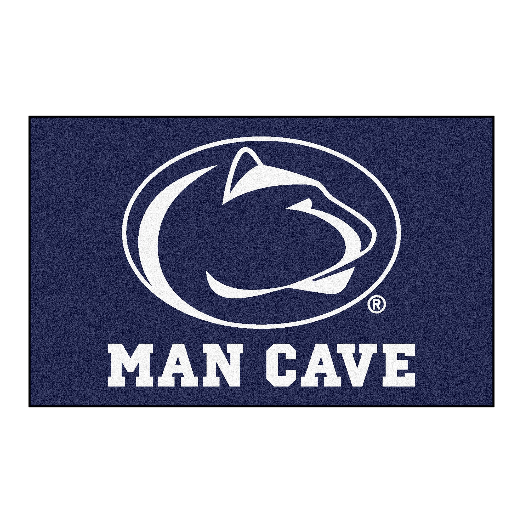 Collegiate NCAA Penn State Man Cave Doormat