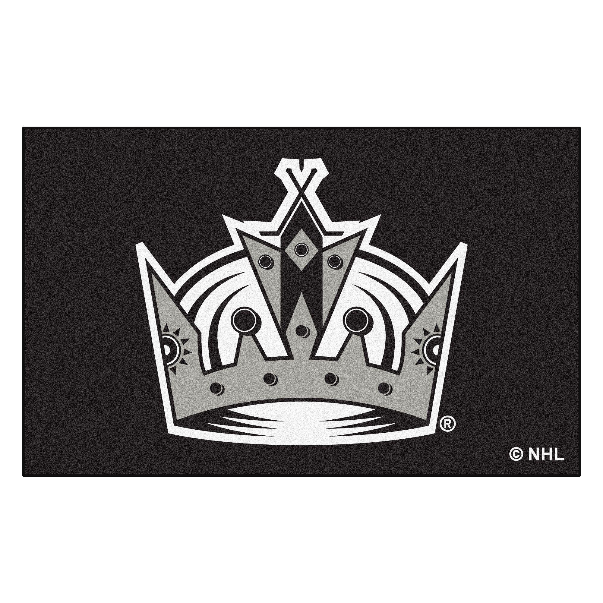 NHL - Los Angeles Kings Doormat Mat Size: 5' x 8'