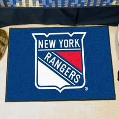 NHL - New York Rangers Tailgater Doormat Mat Size: 5' x 8'