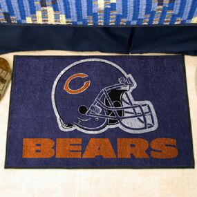 NFL - Chicago Bears Doormat Mat Size: 5' x 6'