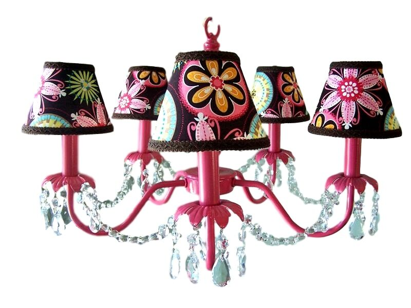 Camillah 5-Light Shaded Chandelier Shade: Sunburst