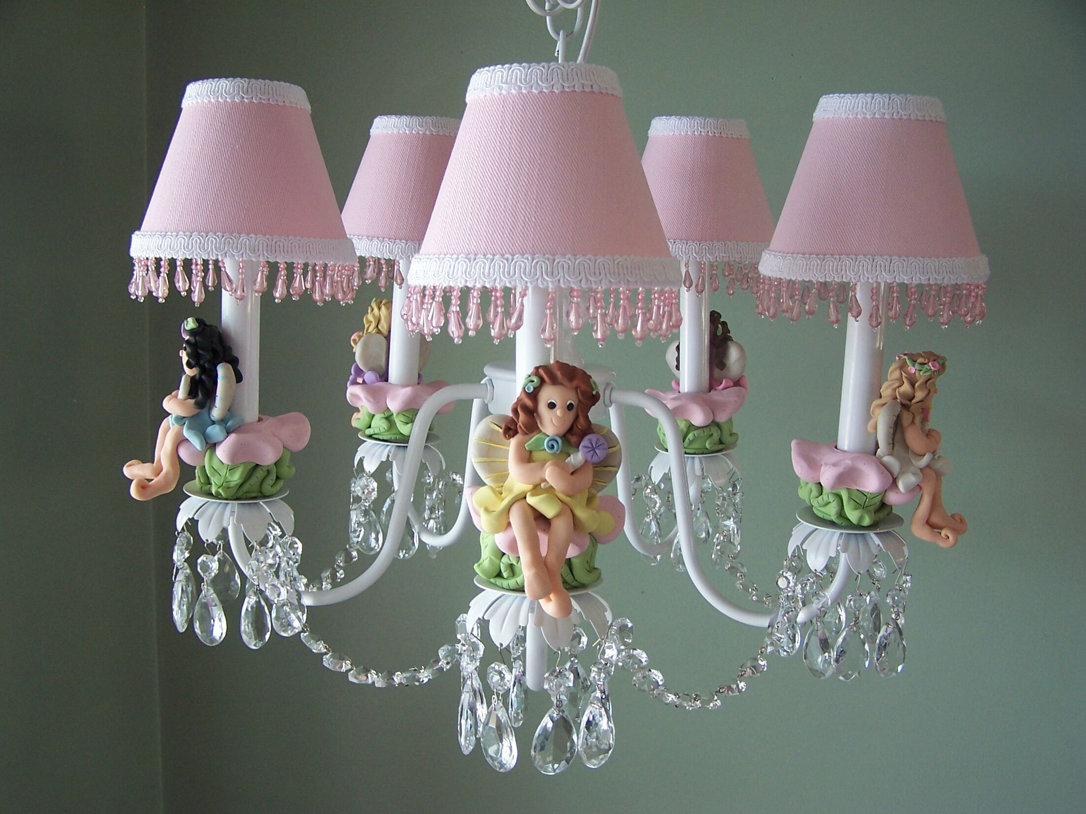 My Fairy Princess 5-Light Shaded Chandelier Shade: Carousel